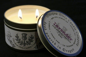 Body Lotion in a Candle 8 oz.