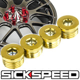 FLAT CAPS FOR SICKSPEED LUG NUTS
