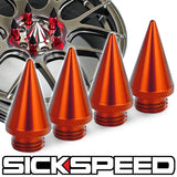 4PC SPIKED CAPS FOR SICKSPEED LUG NUTS