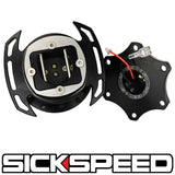 SICKSPEED ZERO-PLAY STEERING WHEEL QUICK RELEASE HUB SPARCO MOMO NARCO