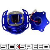 SICKSPEED ZERO-PLAY STEERING WHEEL QUICK RELEASE HUB