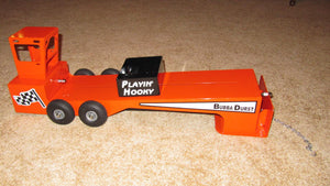 Toy Tractor Pulling Sled