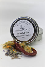 Muscle Balm Salve- with Menthol, Cayenne , Arnica, & St. John's Wort organically grown on farm