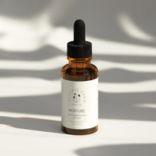 Nurture, Herbal tincture Blend with organic Milky Oats & Nettles for gentle nutritive support for stress recovery