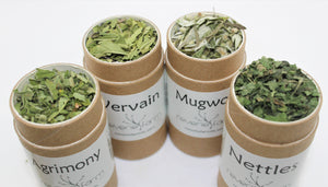 Magick Herb Gift- CEREMONY, for Wiccan,Druid, Alter, Ritual: Betony,Mugwort,Vervain,Nettles, eco-friendly recyclable organically grown USA