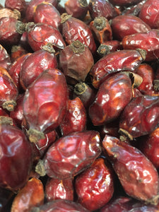 Rosehips, dried organic Rose hips, Rosa fruit