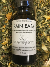 Pain Ease, Herbal Tincture blend for pain support, chronic or acute pain soother with organic Hops and Valerian