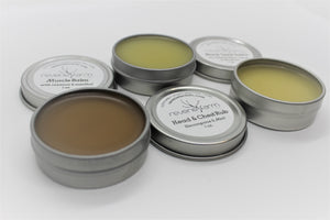 Head & Chest Salve- gently soothe airways, ease headache tension and respiratory symptoms with organically grown Elecampane & Thyme