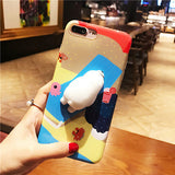 Squishy 3D Cartoon iPhone Case