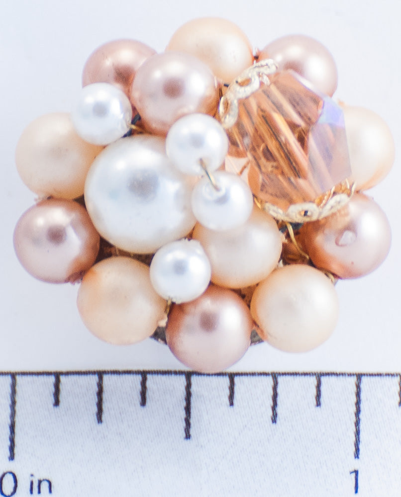 Gold and White Bead