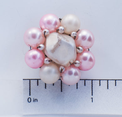 Pink and Cream Bead