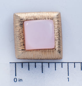 Pink & Gold Square