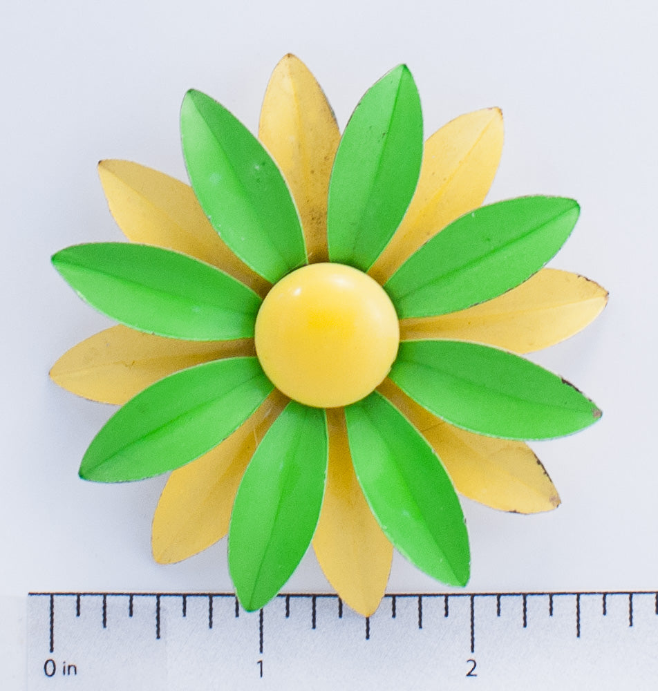 Green & Yellow Petal