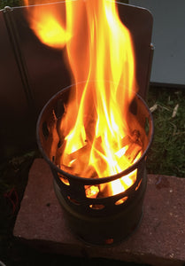 How to use the Toaks Gasifier Twig Stove.