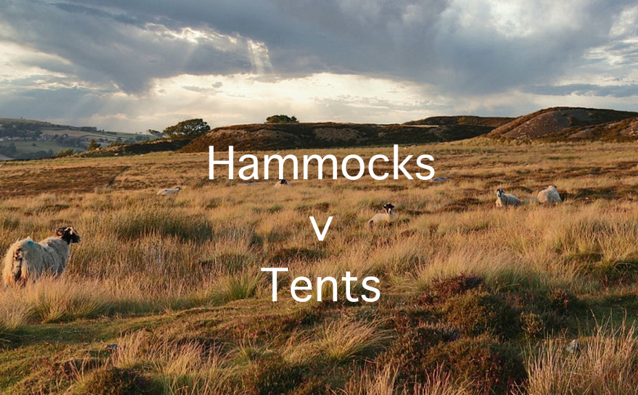 Hammock v Tent - A weight comparison.