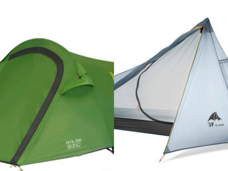 Single Skin or Hybrid Tents. Are they worse for condensation? Side By Side Test.
