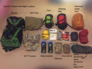 What To Pack For A One Night Wild Camp - Video Included