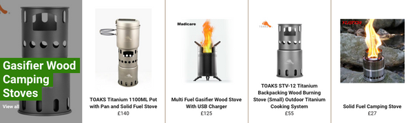 Gasifier Wood Stoves For Camping