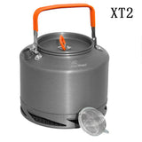 Camping Kettle With Heat Exchanger