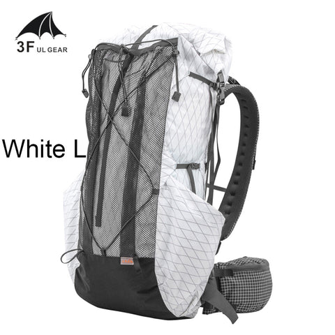 3F UL Gear Dyneema Cuben Fiber Ultralight Backpack 35L-45L 830g