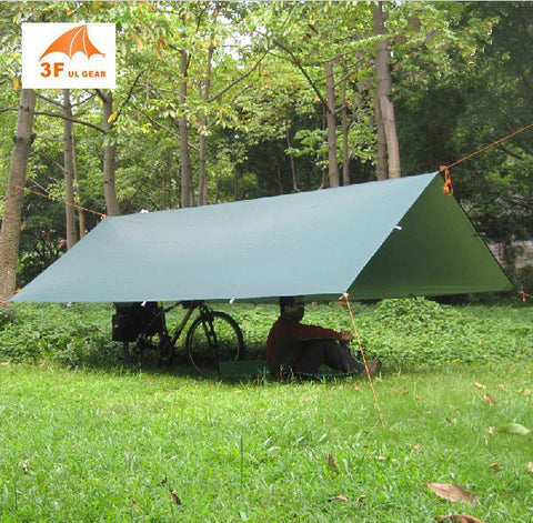 3F UL Lightweight Camping Tarp Suitable For Hammock Camping