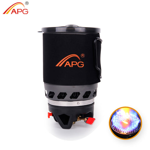 APG 1100ml Fast Boil Backpacking Gas Stove