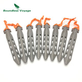 Titanium Tent Pegs For Soft Ground Conditions