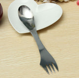 Stainless Steel Camping Double Ended Spork