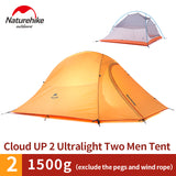 Naturehike Cloud Up 2 2 Man Polyester Tent
