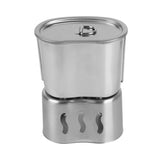 Stainless Steel wood stoves and Army Edition Cup For Outdoor Camping