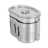 Stainless Steel wood stove and Army Edition Cup For Outdoor Camping