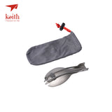 Keith Titanium Folding Spork