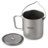 Titanium Backpacking Cookset