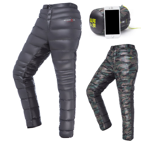Insulated Down Trousers