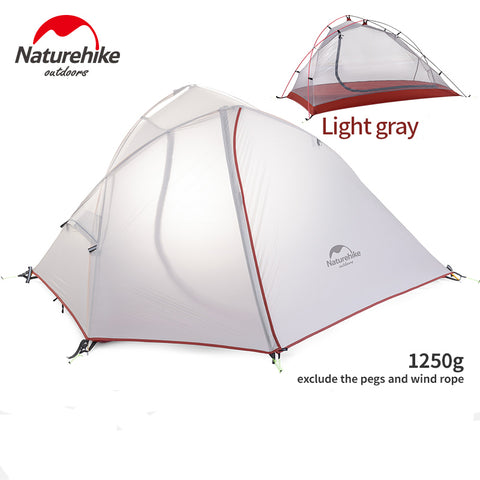 Naturehike Wind Wing 1 & 2 Man Tents - Available in 20D SilNylon or 210T Polyester