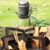 Lightweight Solid Fuel Camping Stove