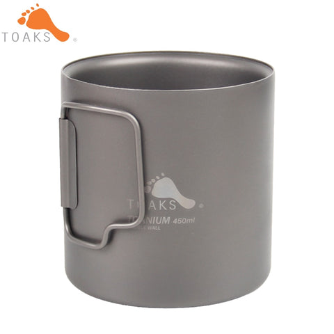 Toaks Titanium Double Walled 450ml Cup