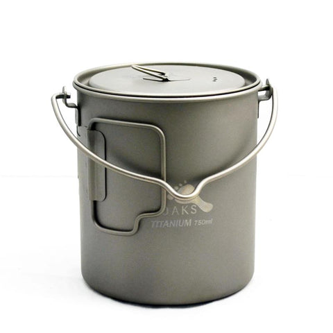 TOAKS Titanium Pot / Mug 750ml with Bail Handle