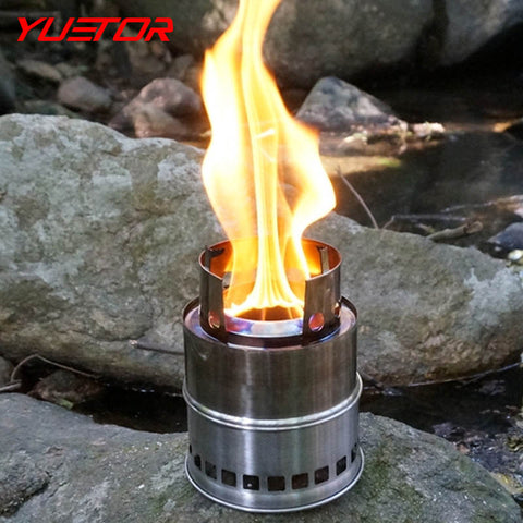 Solid Fuel Camping Stove