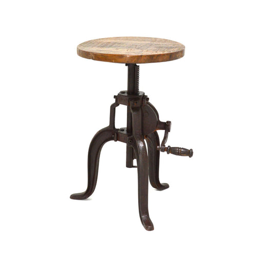Crank Adjustable Stool
