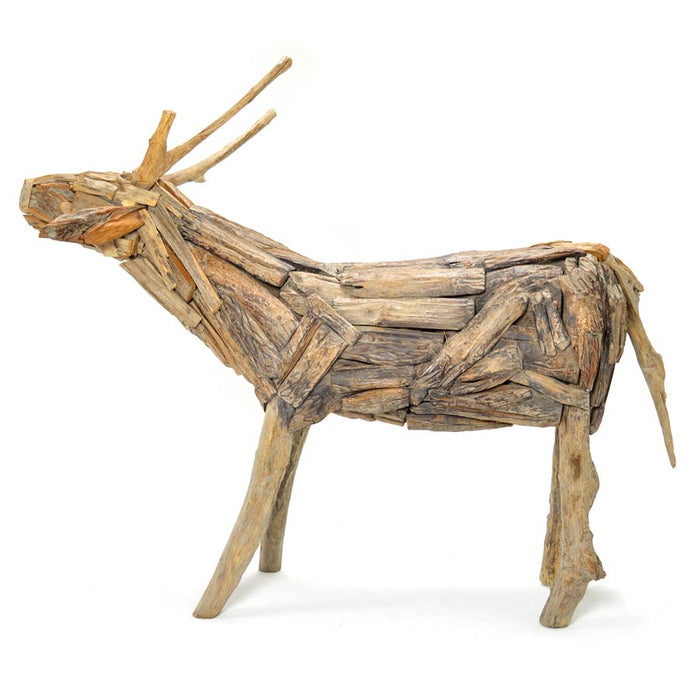 Dasher Deer Sculpture
