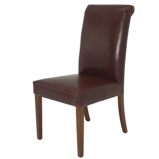 Emma Side Chair Brown