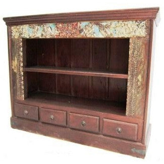 Hearth Bookcase With Drawers