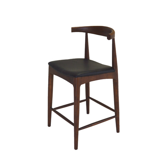 Scandi Barstool Walnut