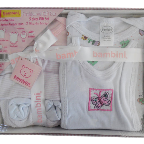 5 Piece Gift Box - Pink