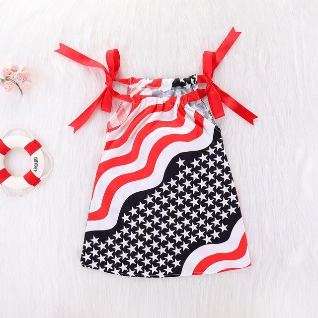 4th Of July Star Dress