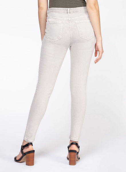 Alabaster Wash High Rise Ultra Skinny Jeans