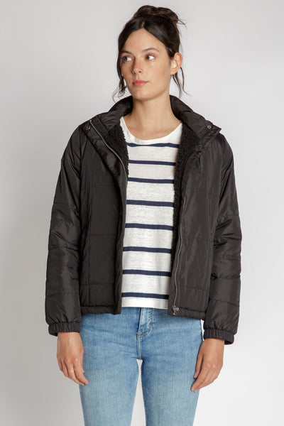 Black Birch Puffer Coat