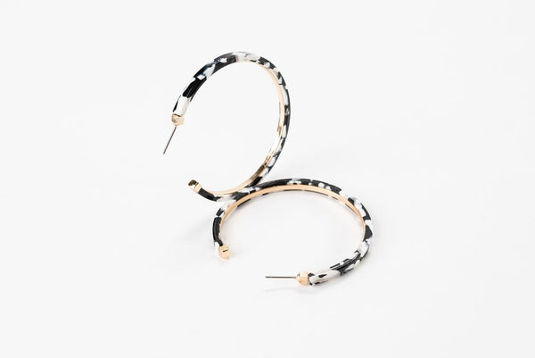 Bianca Large Hoop Earrings