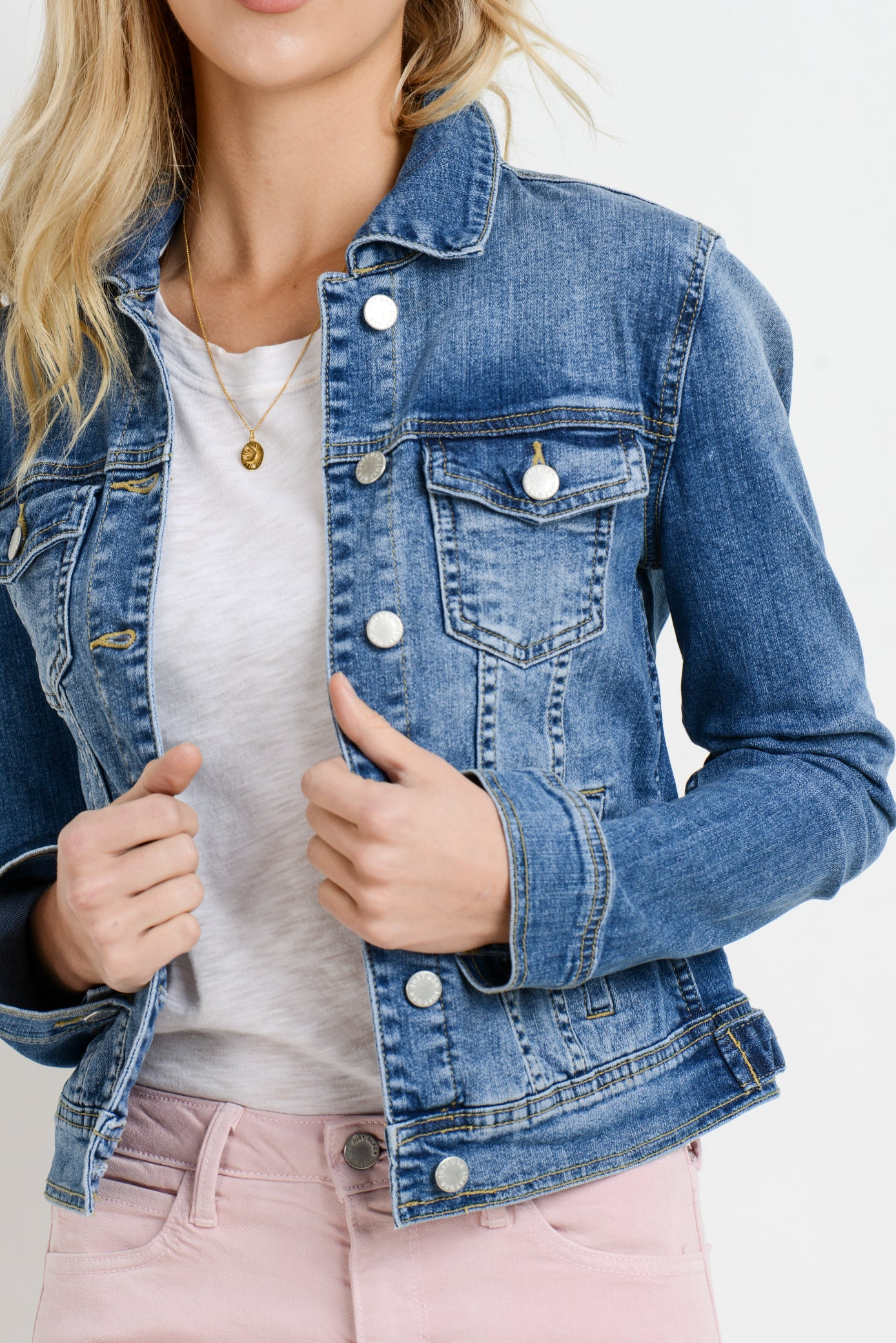 Denim Jacket in Classic Cut
